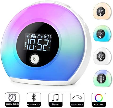 Uplayteck Bluetooth Speaker Bedroom Birthday product image