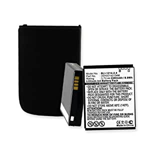 HTC Merge (PD42100) Cell Phone Battery (Li-Ion 3.7V 2400mAh) Rechargable Battery - Replacement For HTC 35H00142-02M Cellphone Battery