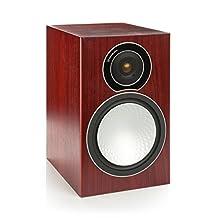 Monitor Audio SILVER 2 Bookshelf Speakers - Rosenut (Pair)