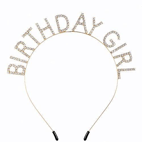 Elehere Birthday Crowns Tiaras
