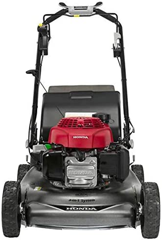 Honda HRR216VYA 21 3-in-1 Self Propelled Smart Drive Roto-stop Lawn Mower with Auto Choke and Twin Blade System