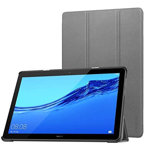 【オープニングセール】 Huawei MediaPad [並行輸入品] T5 グレー 10用MoKoカバー、Huawei MediaPad T5 10.1