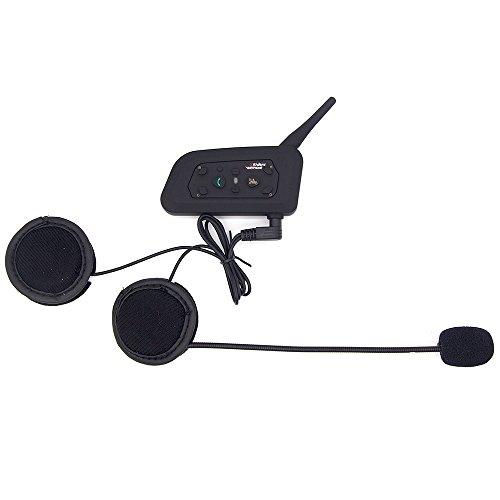 Vnetphone 2pcs BT Motorcycle Motorbike Ski Atv Multi-interphone 6 Riders Handsfree Intercom Sports Helmet Bluetooth Headset 1200m by VNETPHONE (Image #3)