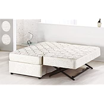 Amazon Com Deco Trundle Combo Upholstered Bed Package