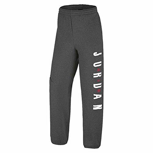 Little Boys Nike Air Jordan Fleece Sweat Pants (4, Black Heather)