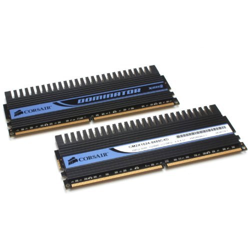 (Corsair DOMINATOR 2 GB (2 X 1 GB) 240-pin DDR2 1066 MHz Dual-Channel Memory Kit)