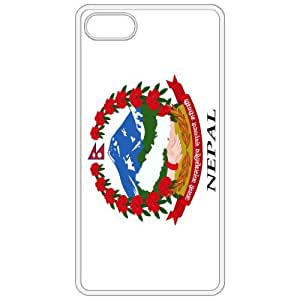 Nepal Coat Of Arms Flag Emblem White Apple Iphone 4 - Iphone 4s Cell Phone Case - Cover