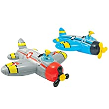 """Intex Water Gun Plane Ride-On, 52"""" x 51"""", for Ages 3+, 1 Pack (Colors May Vary)"""