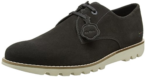 Kickers Kymbo Lace - Botas Hombre gris oscuro