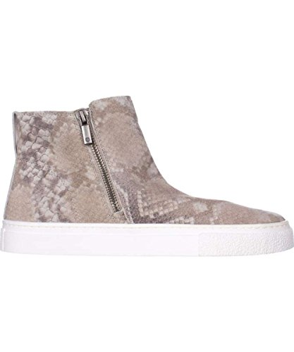 Zipper Lucky Low sierra Womens Top Brand grout Grey Sneakers Fashion Bayleah Leather YYg4r