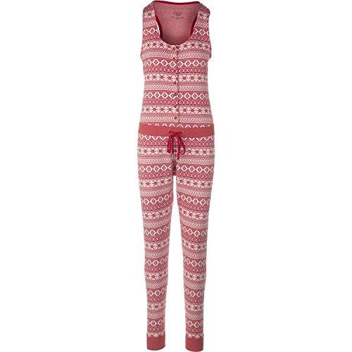 Ugg Dress - UGG Women's Nomie Jumpsuit Scarlett Fair Isle Pajama Set XL