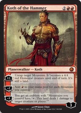 Magic: the Gathering - Koth of the Hammer - Scars of Mirrodin - Foil