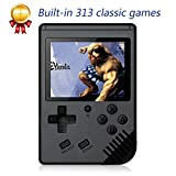 xinguo Handheld Game Console, Portable Game Console 3.0 Inch Screen with 313 Classic