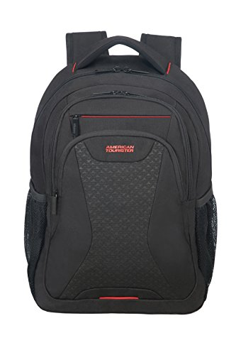 AMERICAN at Midnight 5 13 14 TOURISTER Casual Backpack Work Blue cm Black 3
