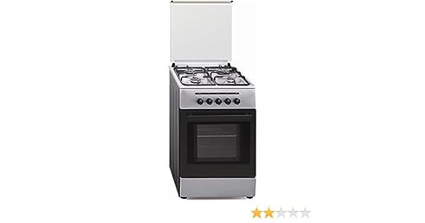 Vitrokitchen CB55IB - Cocina (53 L, 1800 W, propano/butano, Gas ...