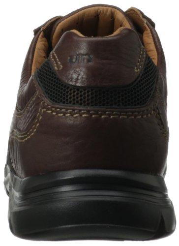 Clarks Mens Un Preston Spets-up Oxford Brunt Läder