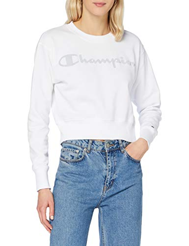 Champion Women's Seasonal Metallic Logo Sweatshirt Dames Sweatshirt