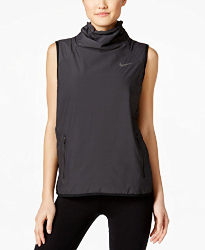 Nike AeroLayer Women's Training Vest Black Dark Grey Volt 809260 010 (m) Nike Winter Vest