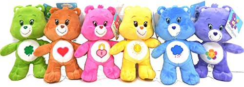 care-bears-harmony-tenderheart-grumpy-secret-good-luck-funshine-bears-85-inches-standing-care-bear