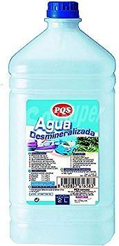 Clim Profesional Agua desmineralizada, destilada y desidionizada para planchas y humidificadores Caja de 6 Botellas 2 L: Amazon.es: Hogar