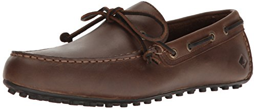 Wave Driver (Sperry Top-Sider Men's Hamilton II 1-Eye Driving Style Loafer, Dark Brown, 8 Medium US)
