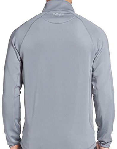 Bobby Jones Men's Solid Liquid Cotton Long Sleeve Quarter-Zip Pullover, Summer Navy, XXL