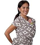 Portabebés Boba, el Original Portador de Bebés Elástico, Perfecto para Bebés Recién Nacidos y Niños de hasta 35 lbs. (Stardust)
