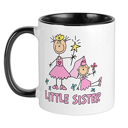 Stick Princess Duo - CafePress Stick Princess Duo Little Sister Mug Unique Coffee Mug, Coffee Cup