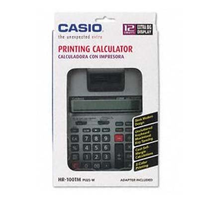 Amazon.com : Casio Printing Calculator - 12 Character(s ...