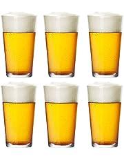 16oz Pintglas Ölmugg Cocktailglas Långdrinkglas Juiceglas Bar Restaurang Vinglas Uppsättning 6