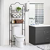 Home Zone Living Over The Toilet Storage Bath Rack