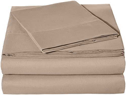 AmazonBasics Microfiber Sheet Set - Twin, ()