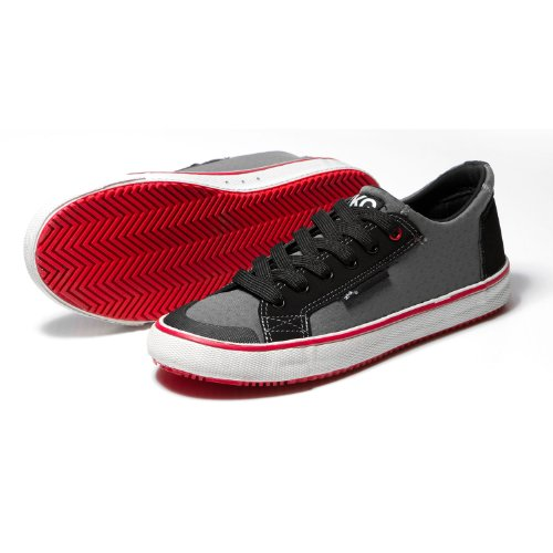 Zhik ZKG Sailing Shoes Wet Shoes - Grey/Red 4.5UK/37EU by Zhik