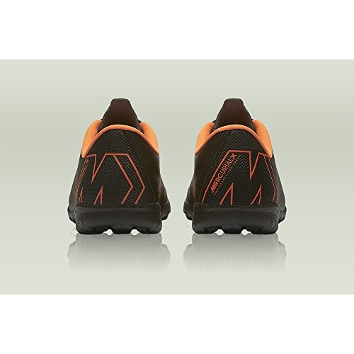 12 NIKE Total Deporte Adulto Academy Jr GS 081 Unisex de w Vaporx Zapatillas Orange TF Multicolor Black ETqwErxp