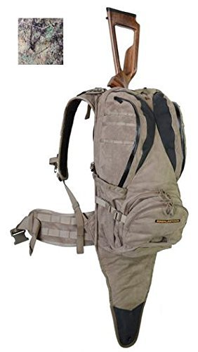 EBERLESTOCK X1A2 Hunting Backpack w/Backscabbard and Ripcord Bowtether,Western Slope, HIDE X1A2HP by Eberlestock