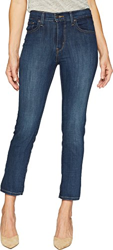 Levi's Women's 724 High Rise Straight Crop Jeans, Blue Story, 34 (US 18)