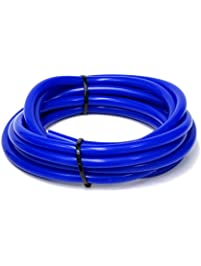 HPS HTSVH35-BLUEx10 Blue 10' Length High Temperature Silicone Vacuum Tubing Hose (60 Psi Maximum Pressure, 3.5mm Id)