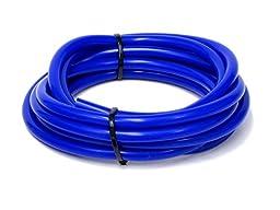 HPS HTSVH4-BLUEx5 Blue 5\' Length High Temperature Silicone Vacuum Tubing Hose (60 psi Maxium Pressure, 5/32\