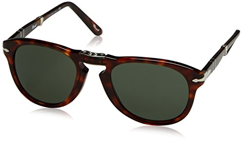 Sol 24 Marrón 57 Green Havana 0714 de Grey Mod Gafas Persol 07wx1EfqXx