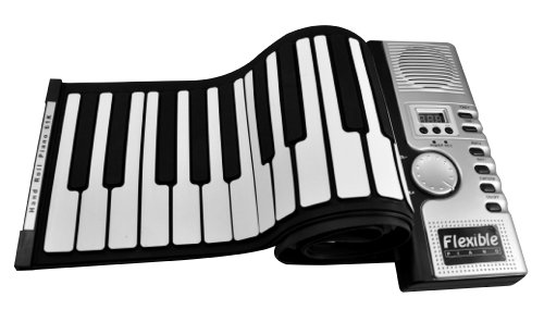 NEW design Flexible Roll Up Electronic Keyboard/Piano/Organ w/ 61 Keys & Midi