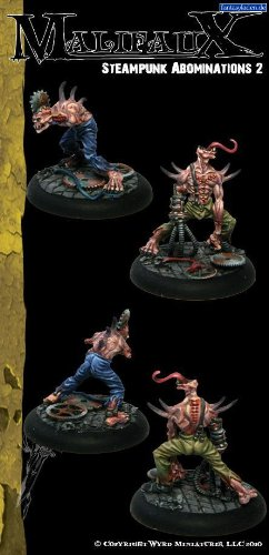 Steampunk Abominations 2 (2 Pack) Outcasts Malifaux 3
