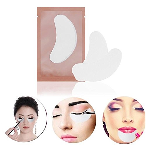 Adecco Llc 50 Pairs Eye Gel Pads Eyelash Extension Under