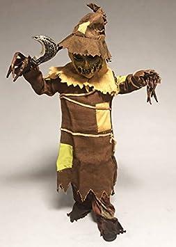 Delights Disfraz de espantapájaros Zombie de Halloween para niños ...