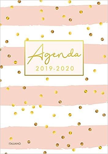 Agenda 2019 2020 italiano: Calendario, Agenda Giornaliera ...