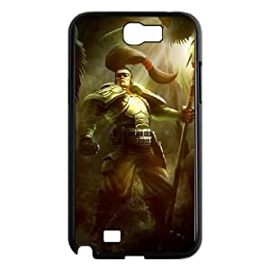 Samsung Galaxy N2 7100 Cell Phone Case Black League of Legends Commando Xin Zhao VB6015151