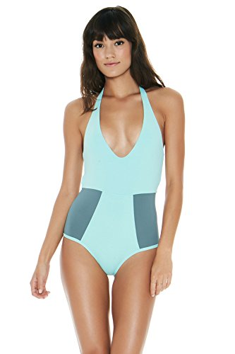 LSpace Women's Fireside One Piece Plunge Halter Swimsuit for sale  Delivered anywhere in USA