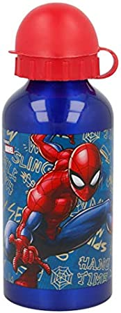 Stor Botella Aluminio 400 ML | Spiderman Graffiti