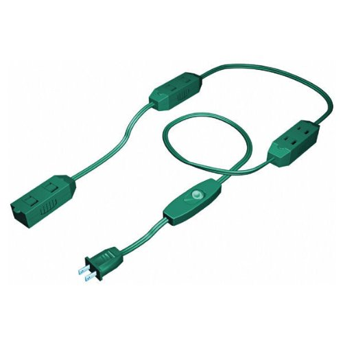 9 ft green christmas lights extension cord indoor only green christmas lights extension cord indoor only amazon aloadofball Gallery