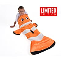 Snuggie Tails Clown Fish Blanket For Kids