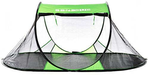 Amazon.com  SansBug 2-Person Mesh Tent (Tarp Floor)  Sports u0026 Outdoors  sc 1 st  Amazon.com & Amazon.com : SansBug 2-Person Mesh Tent (Tarp Floor) : Sports ...
